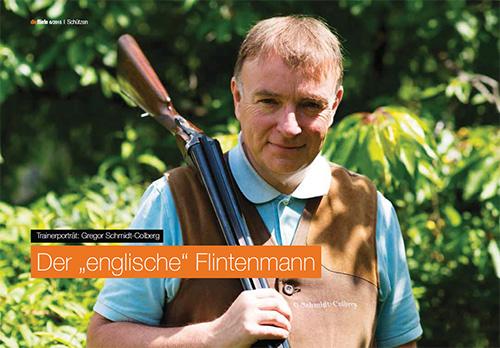 dieflinte 6/2015 - Trainerporträt: Gregor Schmidt-Colberg